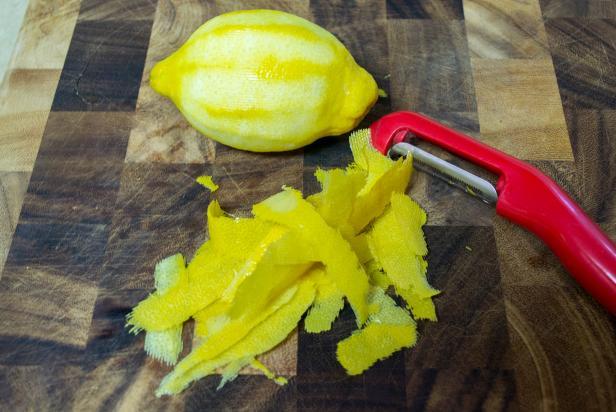 DIY Extract Lemon Rind