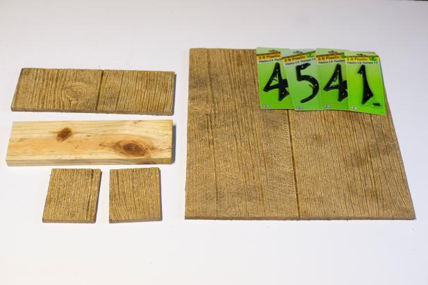House Sign Planter Supplies
