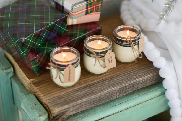 DIY Essential Oil Candles