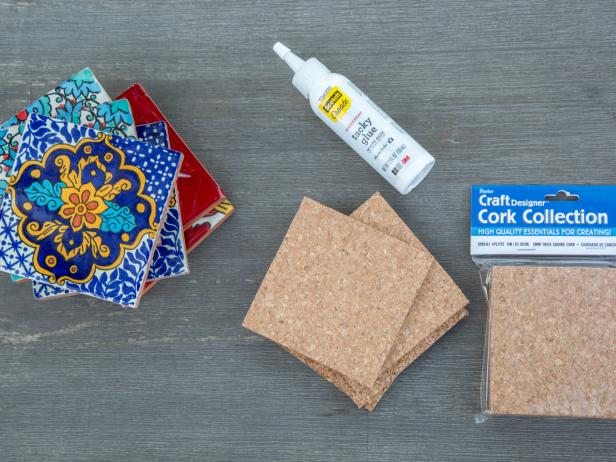 Easy DIY Tile Coasters: Materials