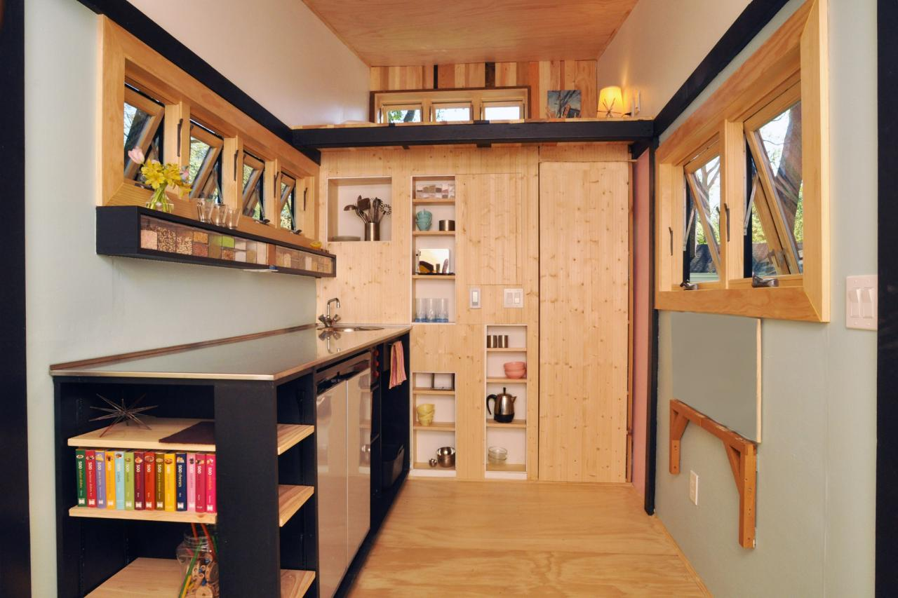 Home Kitchen 6 Smart Storage Ideas From Tiny House Dwellers Hgtv