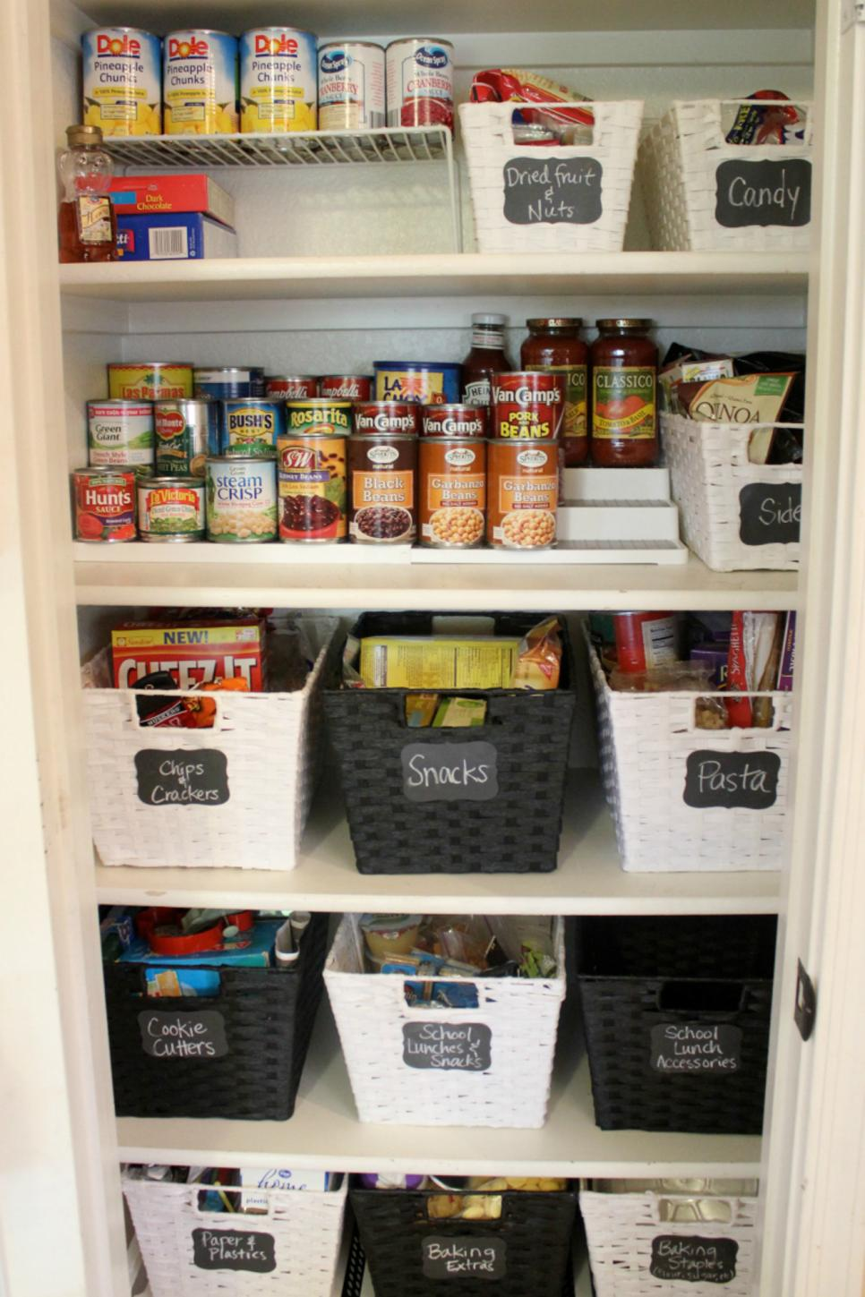 20 best pantry organizers hgtv Best way to organize kitchen cabinets and drawers