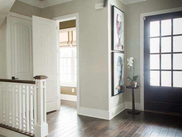 Home Without A Foyer : Pictures of the hgtv smart home entry powder room