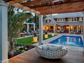 Resort-style Backyard and Pool