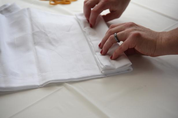 Step 2- Fold the Napkin