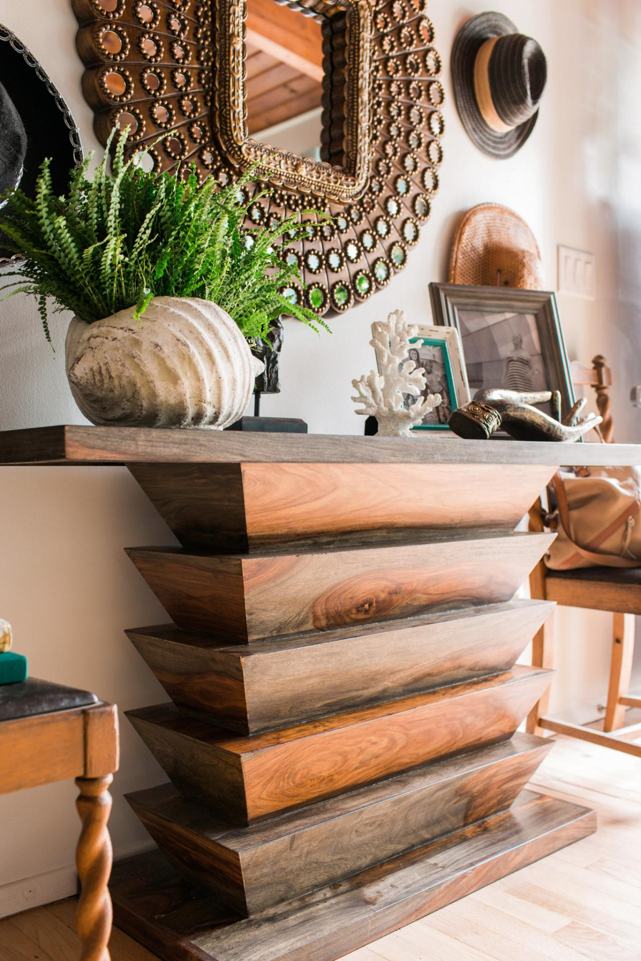 how to clean a wood kitchen table: hgtv pictures & ideas | hgtv