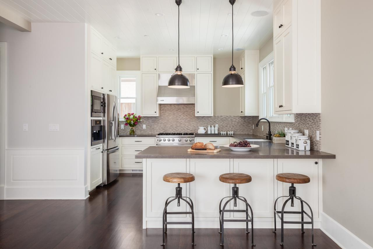 White Modern Country Kitchen Photos  Lindsay Chambers  Hgtv