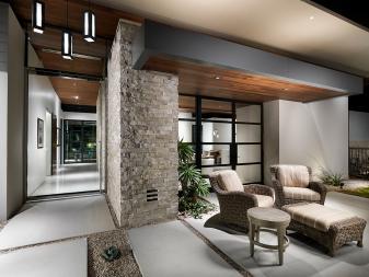 Mid-century Modern Outdoor Space