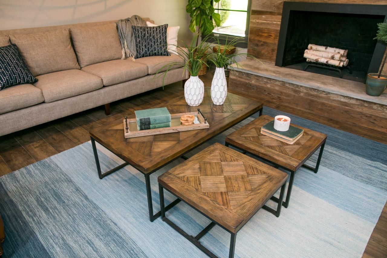 Industrial Fan Coffee Table Fixer Upper Design Tips A Waco Bachelor Pad Reno Hgtvs