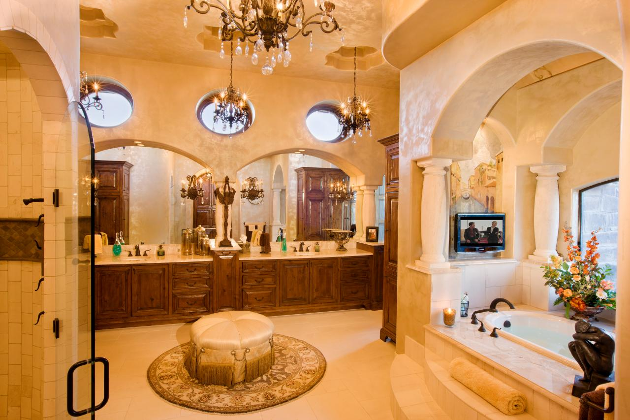 Photos jenkins custom homes hgtv for Luxury master bath designs