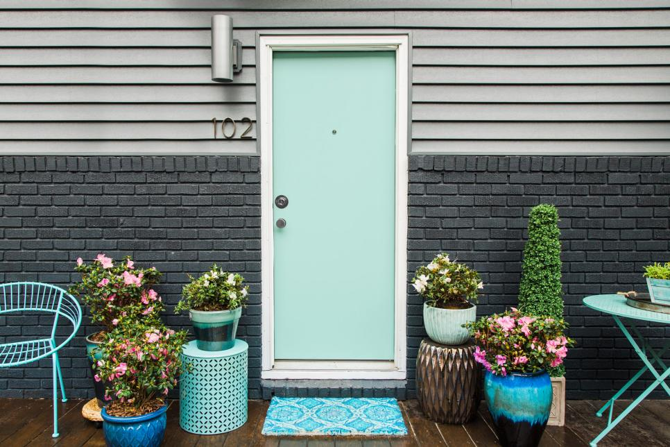 12 Front Door Paint Colors - Paint Ideas for Front Doors | HGTV