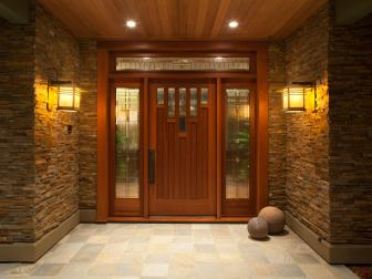 Craftsman Style Front Entry