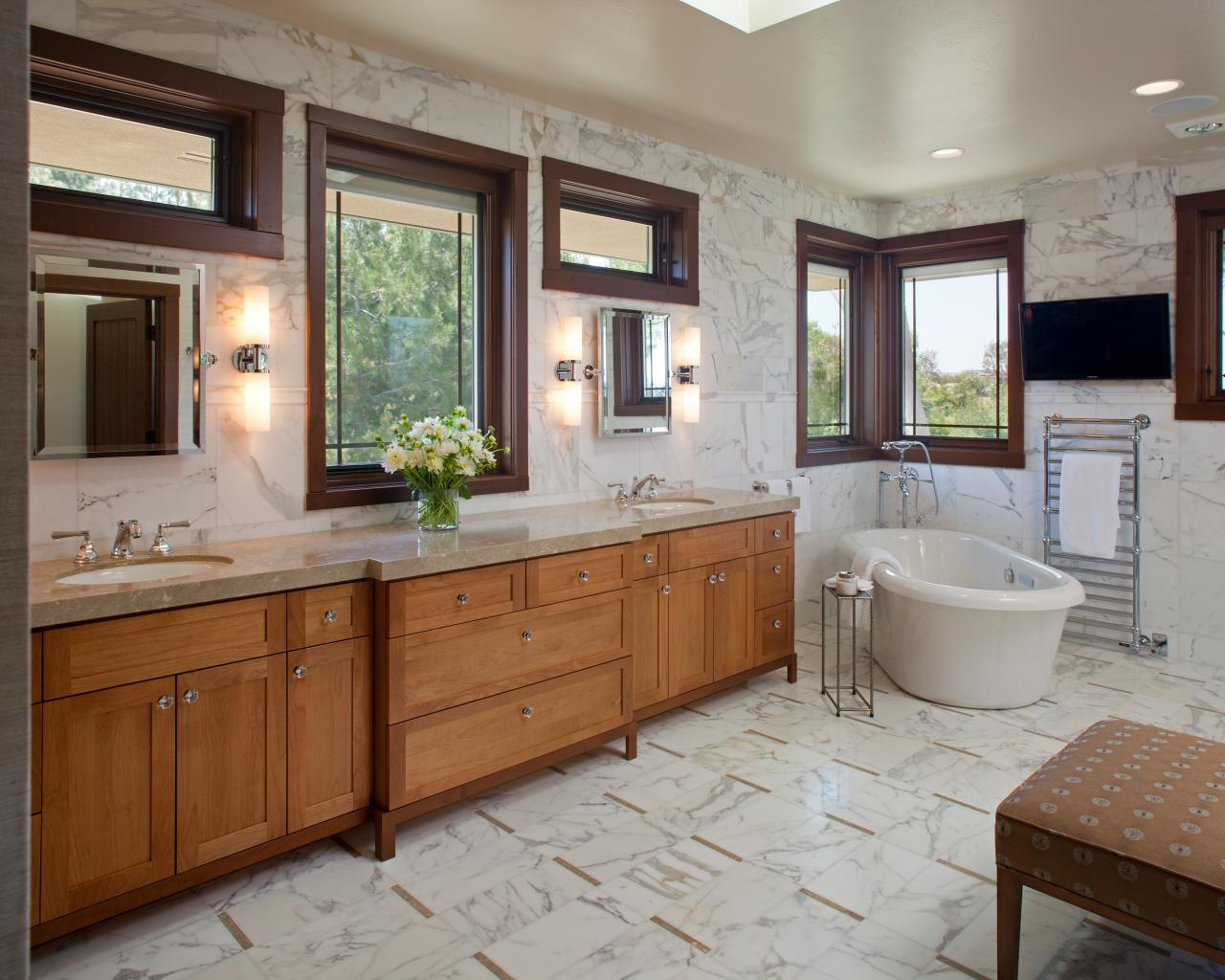 Craftsman Style Bathroom Images : Arts crafts bathrooms pictures ideas tips from hgtv