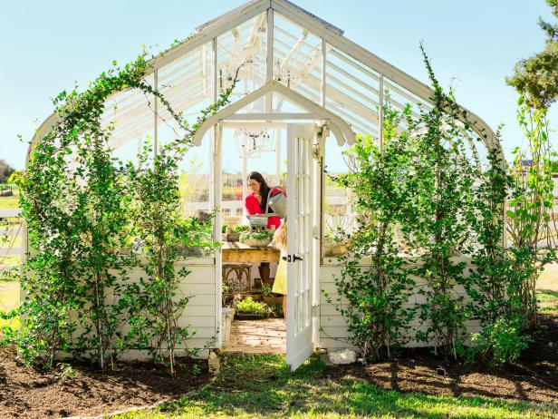 Joanna Gaines Greenhouse
