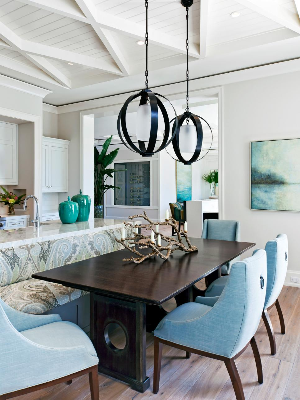 Beachy keen 15 ways to add coastal charm to any space hgtv for Dining room 101 heswall