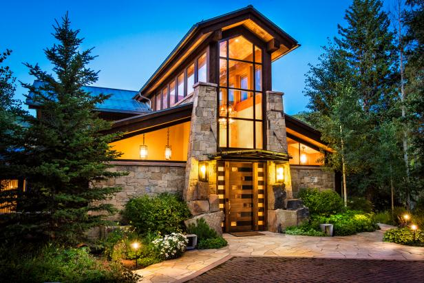 Tour A Modern Mountain Home In Vail Colo 2016 Hgtv