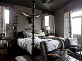 Masculine Contemporary Bedroom