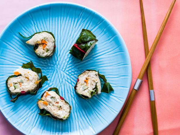 Healthy Snack for Kids: Chicken Salad Sushi