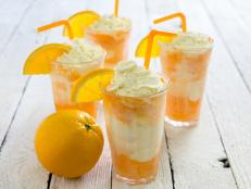 You won't find this creamsicle on any ice cream truck. The classic flavors of the creamy favorite are given a boozy boost.