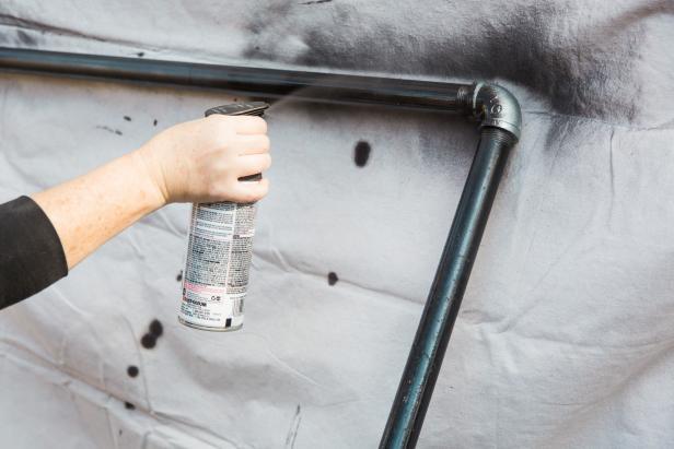 Step 8 - Spray Paint Bronze