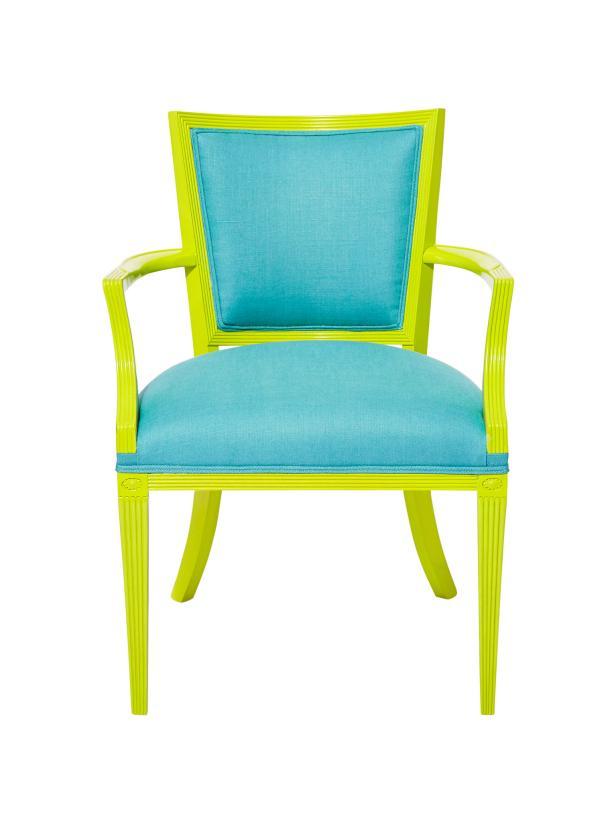 Flea Market Flip: Bright Chair