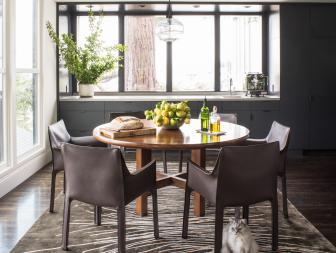 Elegant yet Contemporary Dining Room