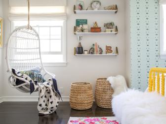 Eclectic Tween Bedroom is Fun, Relaxing