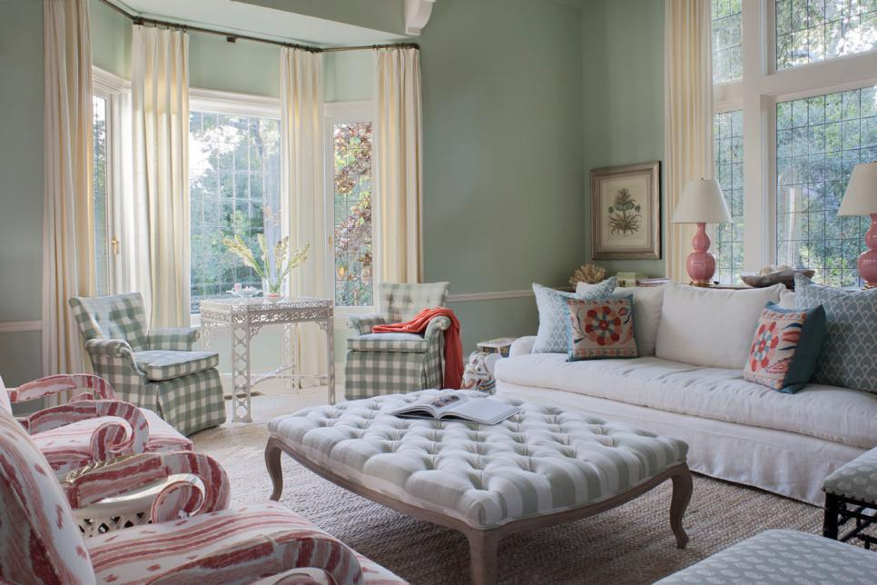 9 Green Shabby Chic Photos