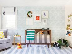 Contemporary Boy's Room is Light, Relaxing