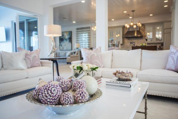 Elegant Coffee Table Decor