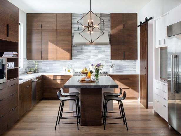 Sleek, Midcentury Modern Kitchen