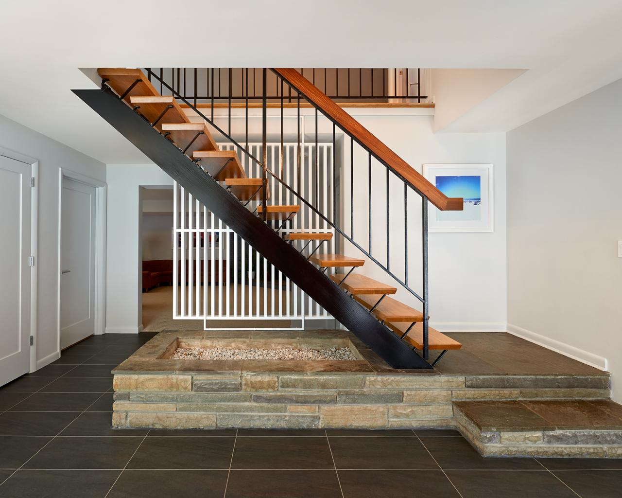 Beautiful Wood Staircase