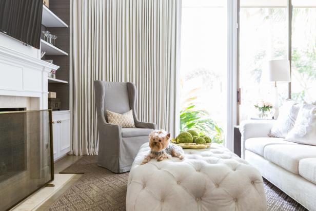 Elegant Master Bedroom Sitting Room