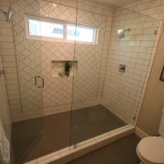 AFTER: Modern Shower Stunner