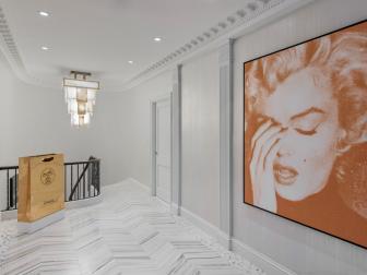 Ambient Light and Modern Art Collection Update Pre-Depression Era Hallway