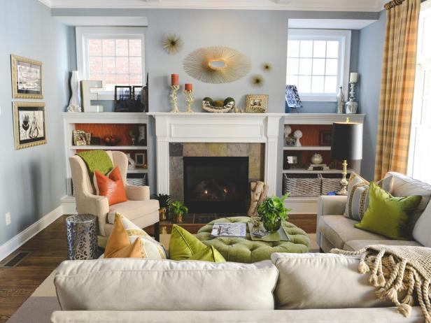 Bright Chic Living Space
