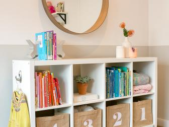 Cubby Shelves for Kids Room