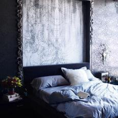 Modern Baroque Bedroom with Gothic Details