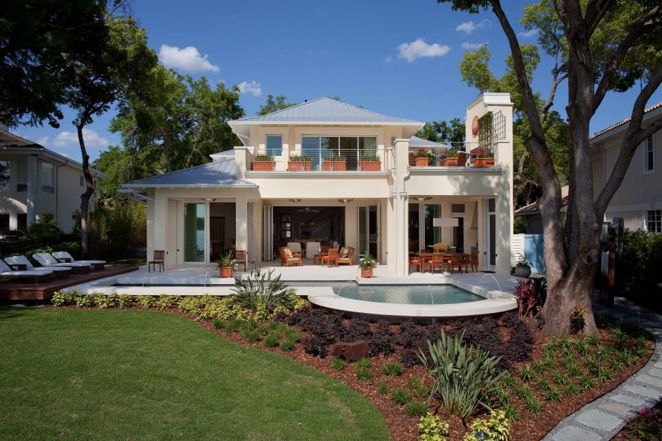 French West Indies Inspired Home With Seamless Indoor