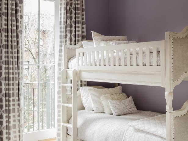 Dreamy Girl's Bedroom in Soft Purple
