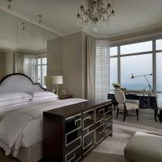 Luxurious Master Bedroom in Neutral and Brown Tones