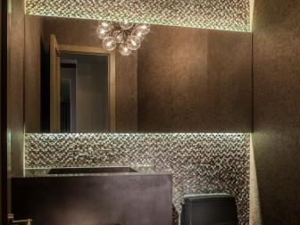Dazzling Powder Room