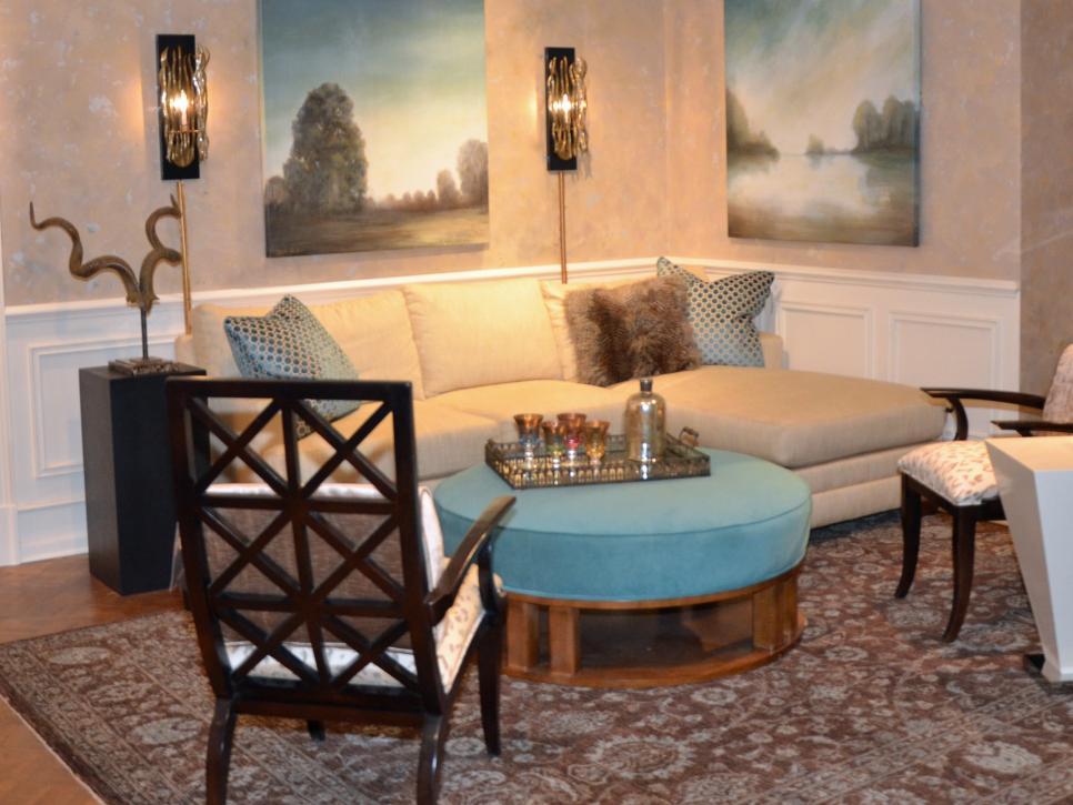 25 budget friendly coffee table ideas hgtv for Hgtv design ideas living room