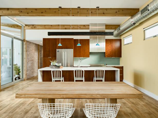 Southwestern Open Plan Kitchen Photos HGTV