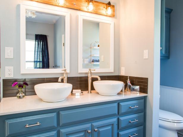 Awesome Austin Texas Bathroom And Living Room Makeover 10 Photos