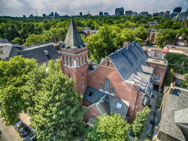 Toronto Church Converted Into Townhouses