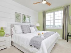 Calming Cottage Bedroom is Serene, Inviting