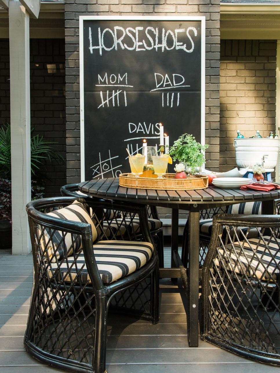 How To Host A Rustic Fall Backyard Party