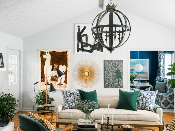 12 ways to make your open floor plan feel cozy hgtv - Decorating open floor plan living room and kitchen ...