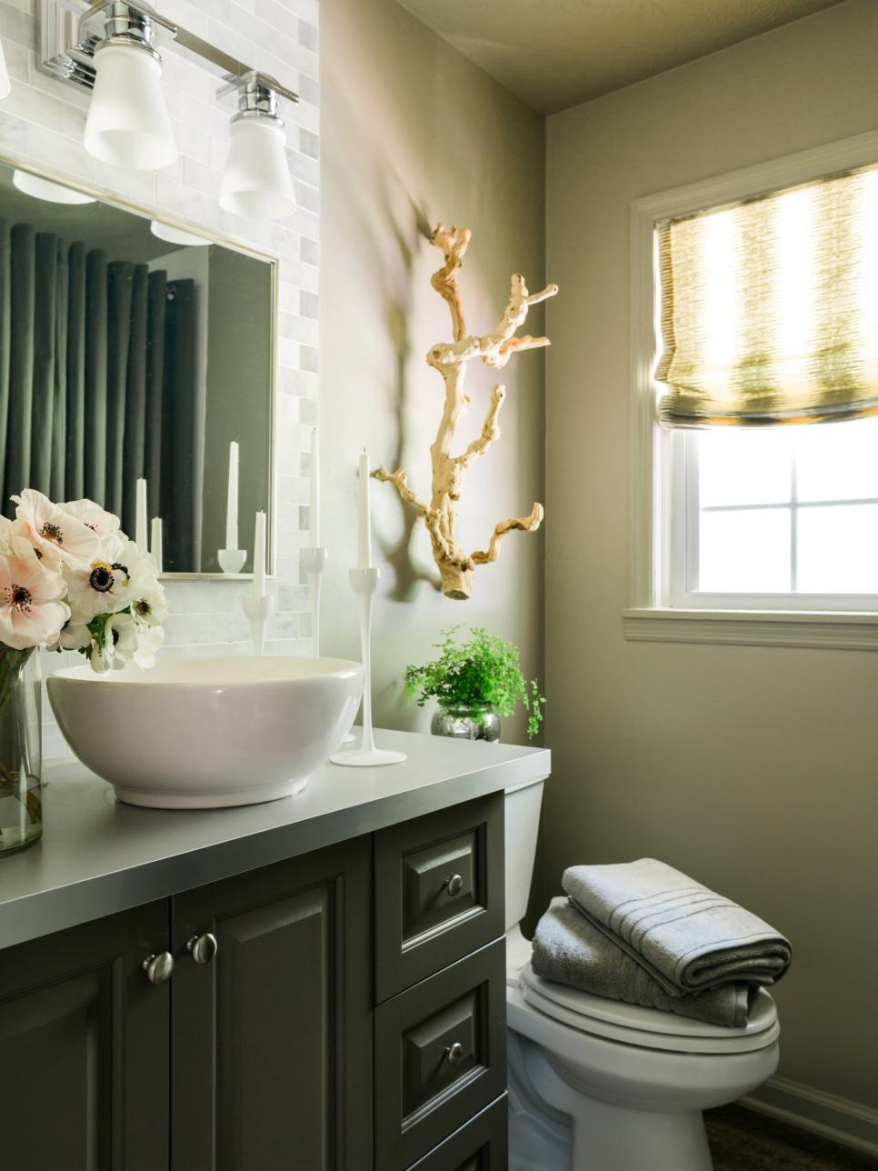 Freshen Up Your Powder Room For Holiday Guests HGTV - Powder bathroom ideas